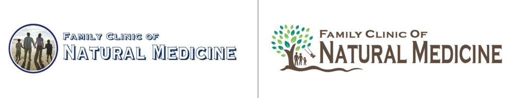 Family Clinic of Natural Medicine Before and After Logo