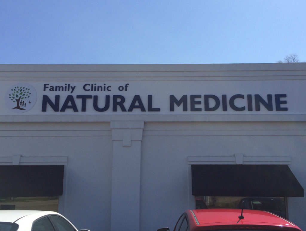 Family Clinic of Natural Medicine Logo Clinic Exterior