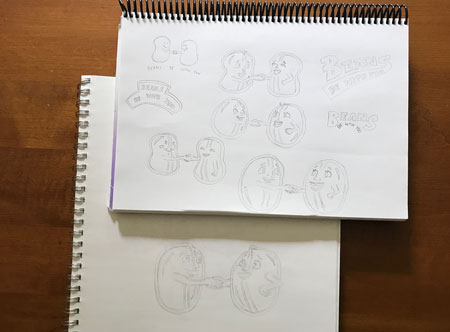 beans-be-with-you-planning-sketches