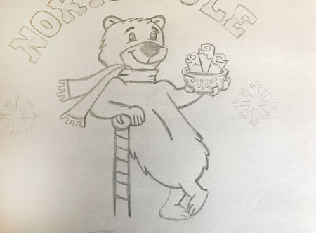 North-Pole-Rolls-Secondary-Logo-Sketch